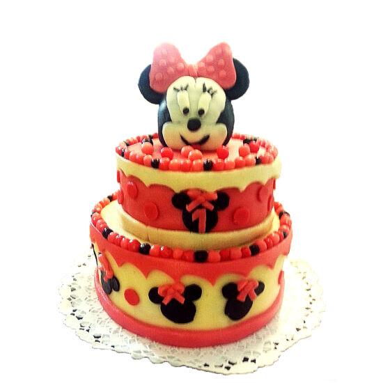 Emeletes Minnie torta