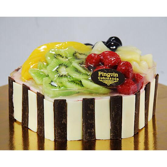 Gyümölcsös éden torta