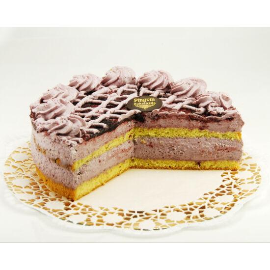 Dia-Wellness erdei gyümölcs torta