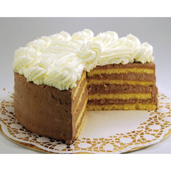 Cukormentes Fekete-erdő torta