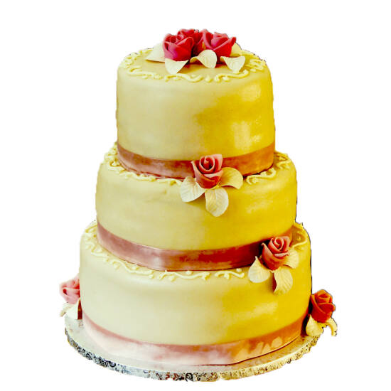 3 emeletes esküvői torta 5