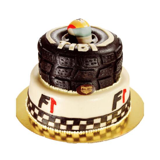 Emeletes F-1-es torta